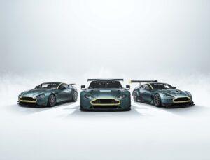 Aston Martin lança trio de Vantage de competição para colecionadores thumbnail