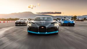 Três Bugatti Divo foram as estrelas do mais recente vídeo da marca thumbnail