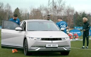 Hyundai Ioniq 5 marcou presença nos treinos do Chelsea thumbnail