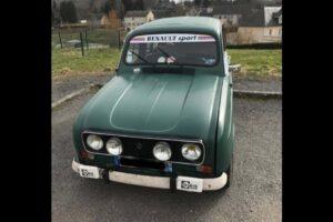Francês multado por excesso de velocidade num Renault 4L thumbnail