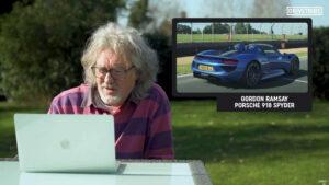 De Gordon Ramsay a youtubers. James May dá opinião sobre os seus carros thumbnail