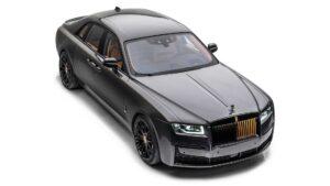 Modificação da Mansory acrescenta detalhes em dourado no novo Rolls-Royce Ghost thumbnail