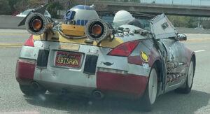 Fanático por Star Wars decidiu demonstrá-lo no seu Nissan 350Z thumbnail