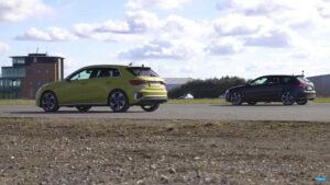 Novo Audi S3 enfrenta anterior geração do Audi RS3 thumbnail