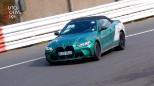 BMW M4 Cabrio novamente apanhado em Nürburgring thumbnail