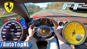 Veja a facilidade com que o Ferrari FF supera os 300 km/h thumbnail