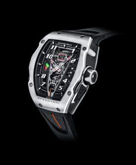 McLaren e Richard Mille apresentam novo relógio inspirado no Speedtail thumbnail