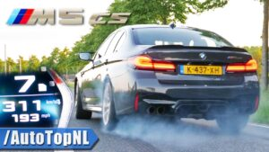 Veja o BMW M5 CS a mostrar do que é capaz na Autobahn thumbnail