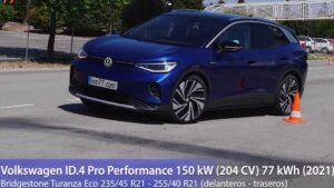 Veja como se saiu o Volkswagen ID.4 no teste do alce thumbnail
