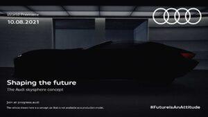 "Audi Skysphere, o concept que promete ""moldar o futuro"" vai ser apresentado em agosto thumbnail"