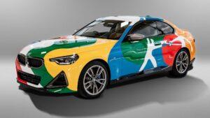 BMW transforma Série 2 Coupé em arte thumbnail