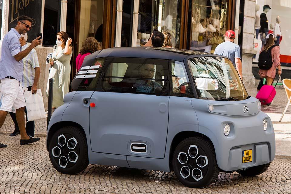 Citroën AMI 100% Ëlectric chegou a Portugal | Automais