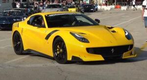 Ferrari F12tdf faz corrida contra Rimac Nevera. O vencedor é previsível thumbnail
