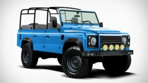 Parece um simples Land Rover Defender, mas a base é de um Jeep Wrangler thumbnail