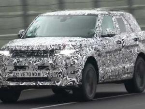Range Rover Sport SVR camuflado continua a realizar testes em circuito thumbnail