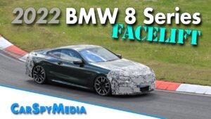 BMW Série 8 camuflado apanhado em Nürburgring. Renovação a caminho? thumbnail