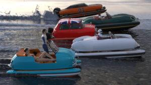 Floating Motors, a empresa que quer tornar carros clássicos em barcos thumbnail