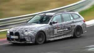 BMW M3 Touring volta a aparecer em Nürburgring thumbnail
