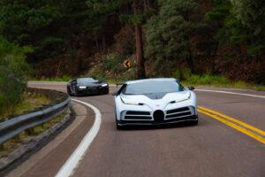 Bugatti Centodieci termina testes em temperaturas elevadas thumbnail