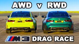 BMW M3 com tração traseira ou integral. Qual deles o mais rápido? thumbnail