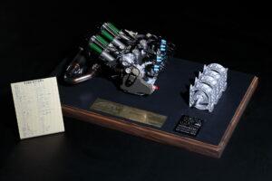 Esta Miniatura do motor rotativo utilizado no Mazda 787B custa 1300 euros thumbnail